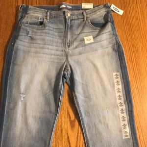 Old navy straight ankle jeans size 16